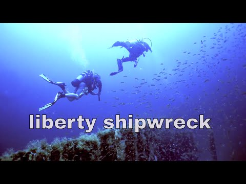 DESTIN FLORIDA LIBERTY SHIPWRECK scuba dive with scuba tech 4k sony rx100v ULTRA HD wreck diving