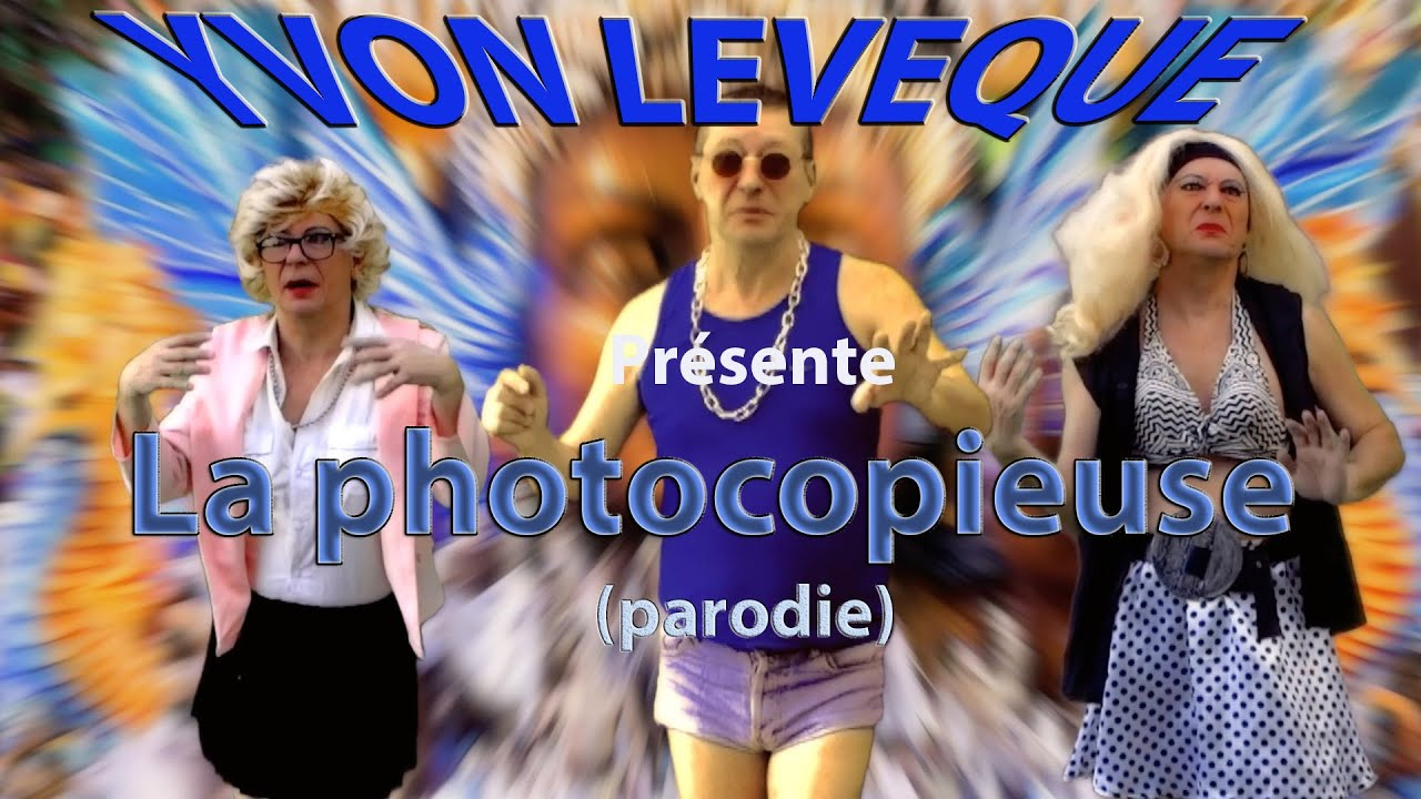 cauet la photocopieuse