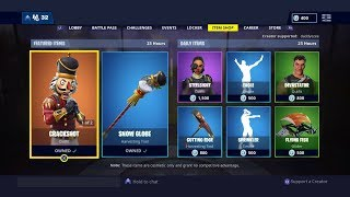 Fortnite Buying New Skins The Crackshot Returns With New Crackabella Skin