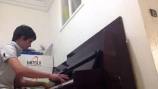 Lili twil - younes migri ( piano by Bilal Benkhammar )