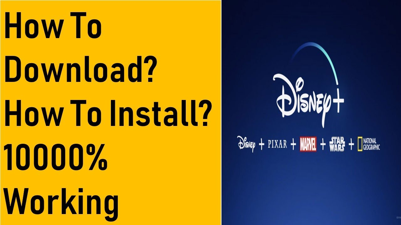 Download Disney Plus App For Android APK  #Smartphone #Android