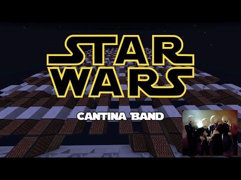 Star Wars | Cantina Band | Minecraft Note Block Song