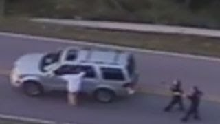 Police helicopter video shows shooting death of unarmed man