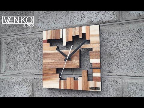 Designer Wooden Clock | Дизайнерские деревянные часы