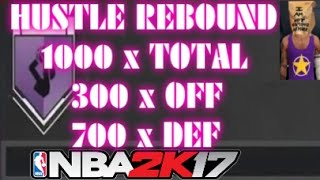 hustle rebounder stats for hall of fame exact numbers needed nba2k17