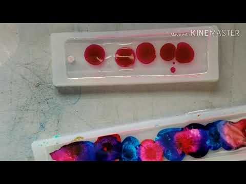 Super simple DIY Resin petri dish bookmarks great for gifts