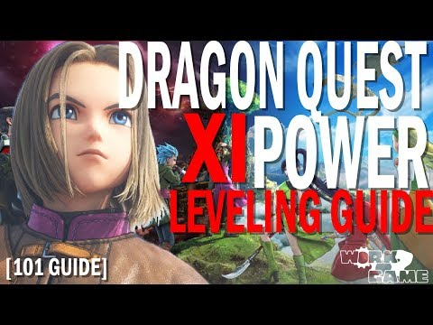 Dragon Quest XI Early Power Leveling Guide [Level 20+] [Metal Slime