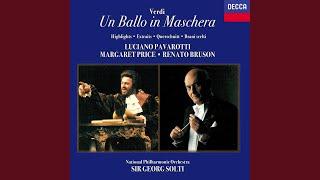 Verdi: Un ballo in maschera / Act 1 - Volta la terrea... Signori: oggi d'Ulrica