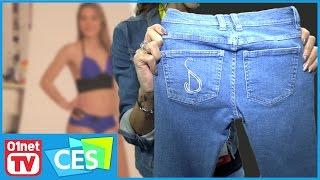 Allez-vous deviner de quoi sont capables ce bikini et ce jean connecté ? CES 2017