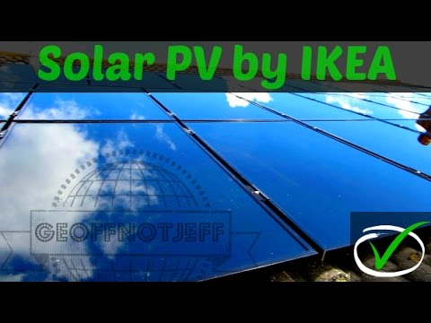 Solar PV Installation by IKEA UK – From Start to Finish