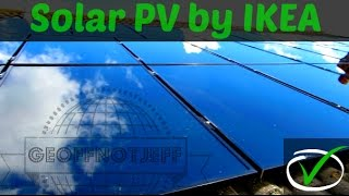 Solar PV Installation by IKEA UK - From Start to Finish