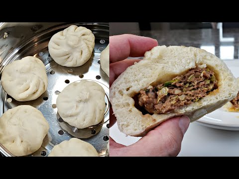 easy-steamed-buns-recipe-|-beef-steamed-buns-recipe-|-homemade-baozi-recipe