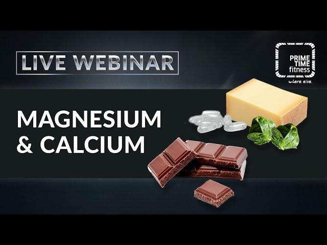 Magnesium & Calcium - ein muss für jeden Trainierenden?