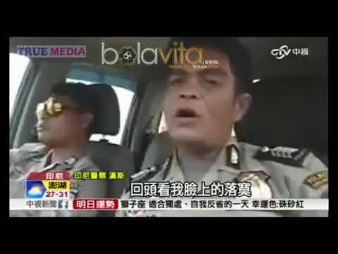 Gilaa.. Polisi Asal Kota Medan Ini Masuk Headline News Media China !