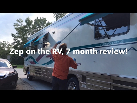 Zep floor polish for RV, 7 month review