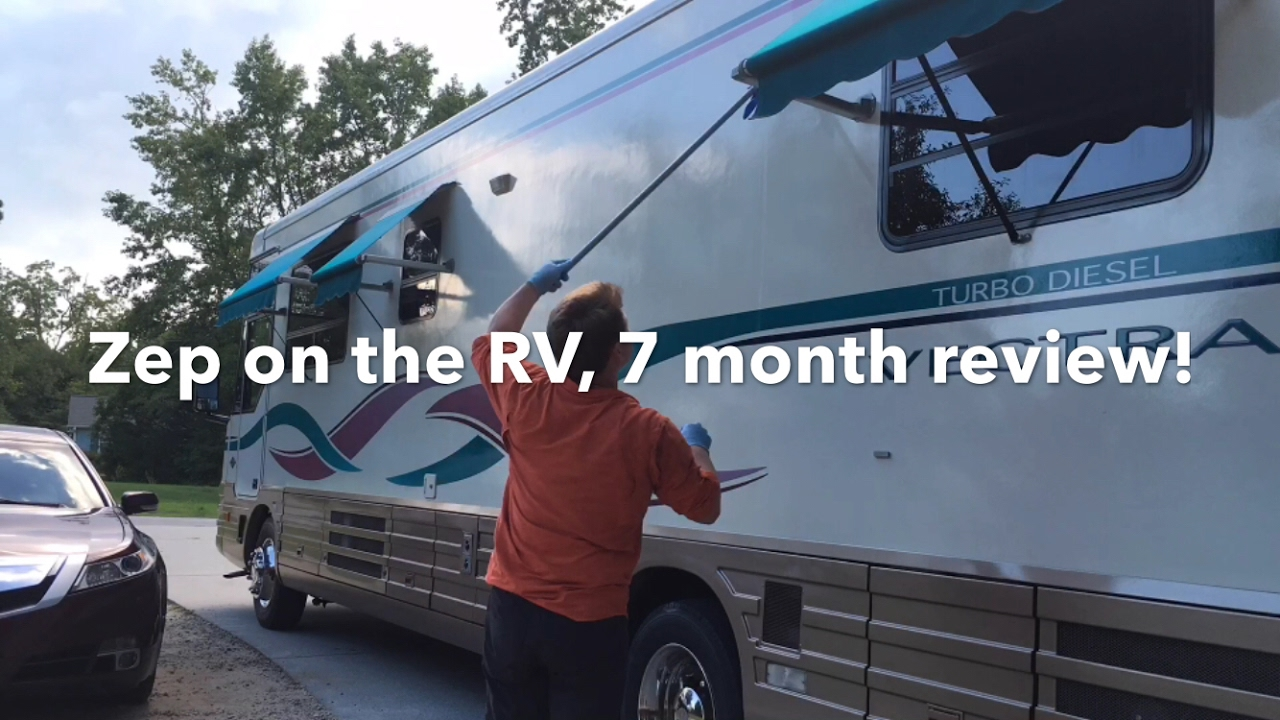 Zep Floor Polish For Rv 7 Month Review Youtube