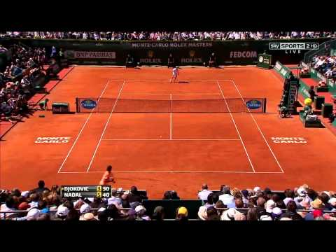 Monte Carlo 2012 FINAL. Nadal vs Djokovic (HD)