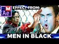 After Effects Tutorial: Men In Black - Chris Hemsworth - Liam Neeson - Girl Fence - International