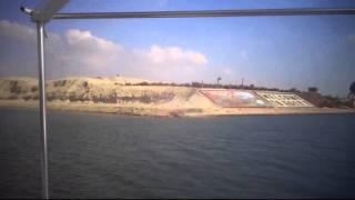 قناة السويس الجديدة : مشهد عام للتكريك فى قناة السويس الجديدة بقناة الاتصال بالكيلو 76