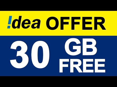 IDEA Latest OFFER | 30 GB FREE for 28 Days without Daily Limit | Rs: 356 & 191 #JioEffect