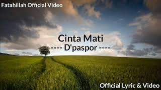 Biarpun Kau Sakiti Biarpun Kau Lukai | Cinta Mati (Official Lyric & Video) BAPER Bgt