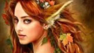 Арты девушек с рыжими волосами)
