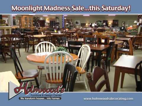 Holmwoods Furniture TV Spot   Moonlight Madness March 24th, 2012