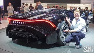 €16.7m BUGATTI LA VOITURE NOIRE - World's Most Expensive New Car! thumbnail