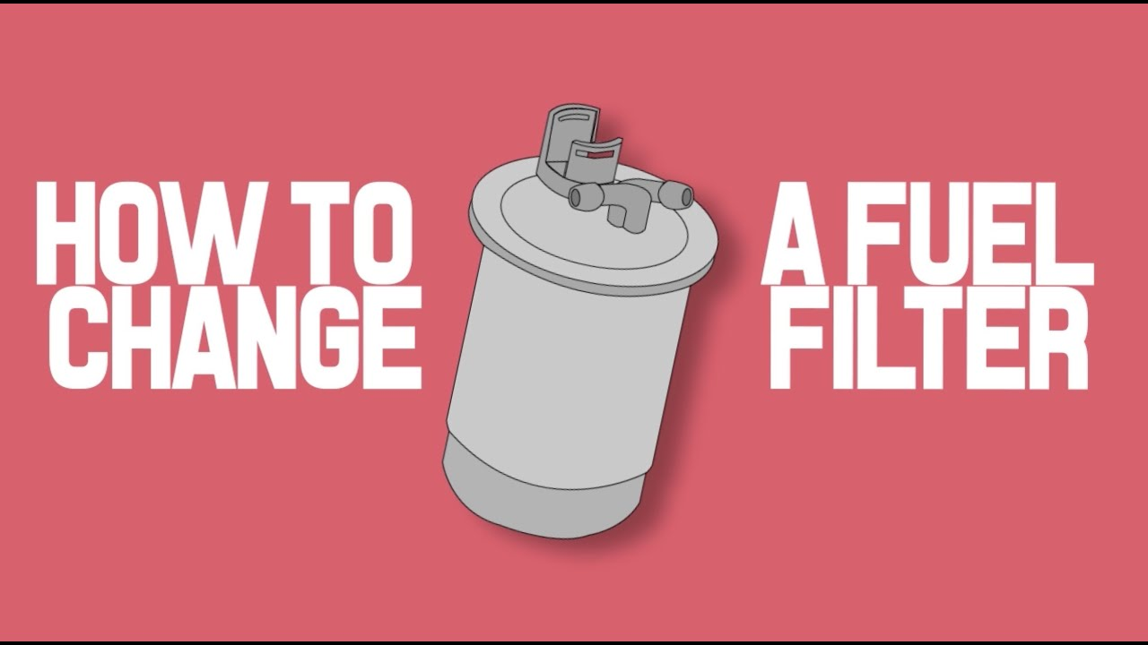 How To Change A Fuel Filter Tdi Diesel Engine Youtube