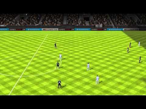 FIFA 14 Android - Ghana BlackStar VS Estudiantes