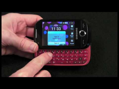 Samsung Genio Slide Mobile Phone Review