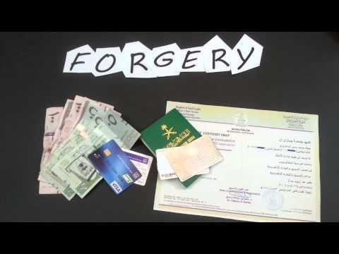 مشهد قصير عن : التزوير - Forgery (Crime)