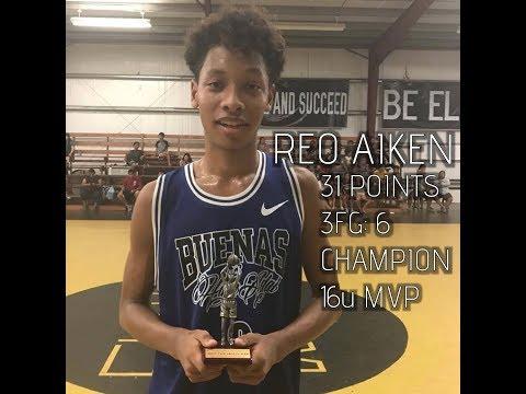 Reo Aiken 31 Points, 16u Guam Elite Tournament Champion & MVP