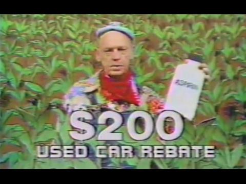 Funny '70s- and '80s-era car dealership commercials