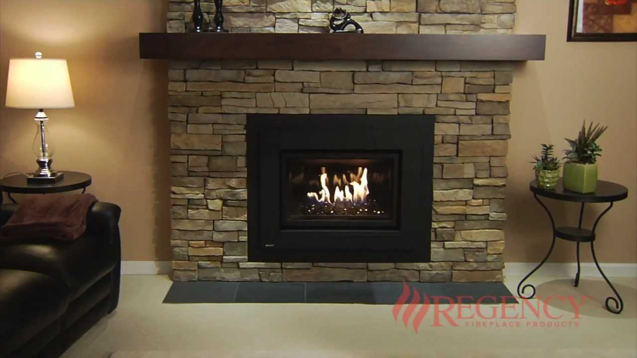 No more drafty fireplaces! Save money by turning down your furnace and zone heating with a Regency Horizon Gas Insert. Enjoy consistent