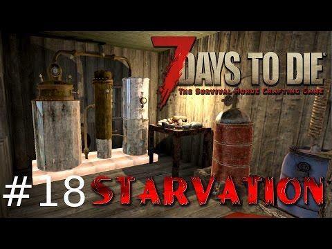 7 Days to Die: Starvation #18 Testy broni, narzędzi i bimbrownia!