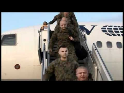 1st Battalion, 4th Marines Arrives in Okinawa