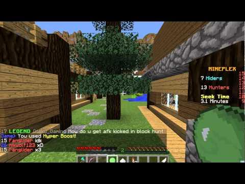 Minecraft Block Hunt