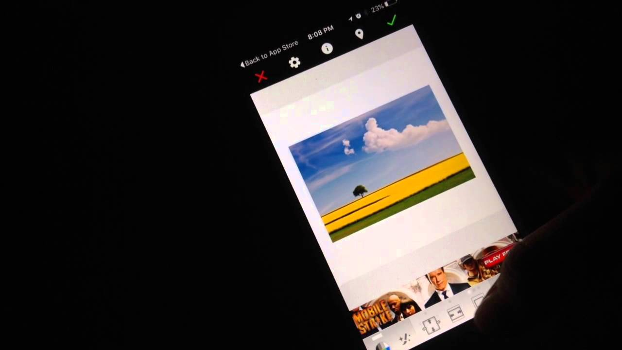 how to get a white border around your pics on instagram