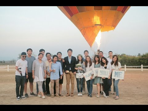 Surprise Propose Balloon Trip Chiangmai
