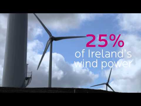 Energia Renewables Wind Farm in Hollyford, Co Tipperary