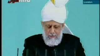 Friday Sermon by Khalifatul-Massih - September 19, 2008 - 6/6