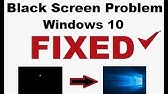 How To Fix Windows 10 Black Screen With Cursor After Login