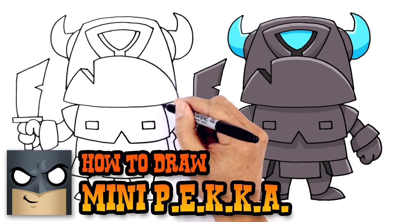Clash Royale Pekka Coloring Pages