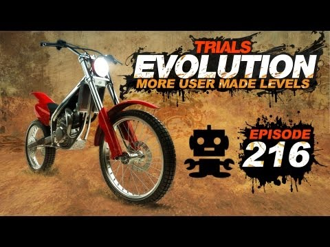Trials Evolution: More User Made Levels Ep.216 Jets and Glowing