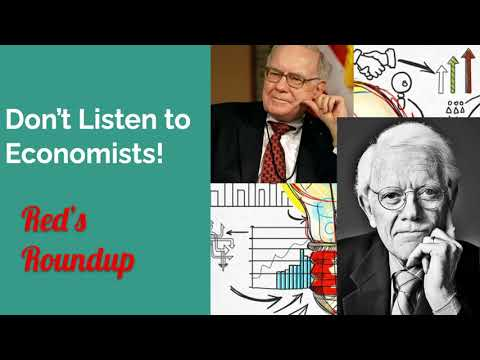 Don't listen to Economists! Why Warren Buffett and Peter Lynch don't.