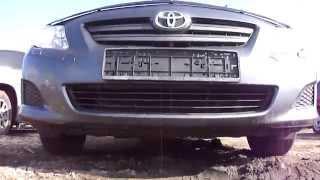 2008 Тойота Королла.Обзор (интерьер, экстерьер)