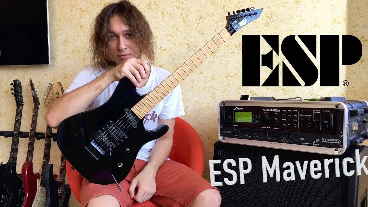 ESP Guitars George Lynch 2016 Signature Guitar Demo w Chris .