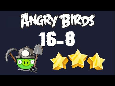 [16-8] Angry Birds - Mine And Dine - 3 Birds - 3 Stars