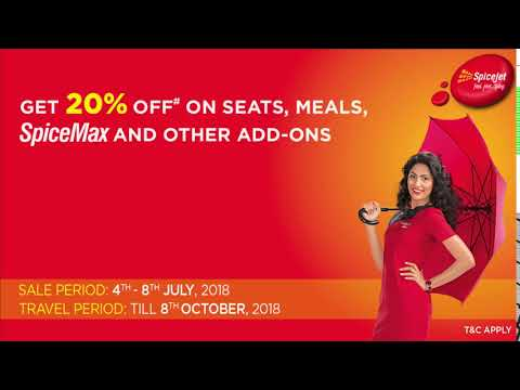 SpiceJet presents Mega Monsoon Sale